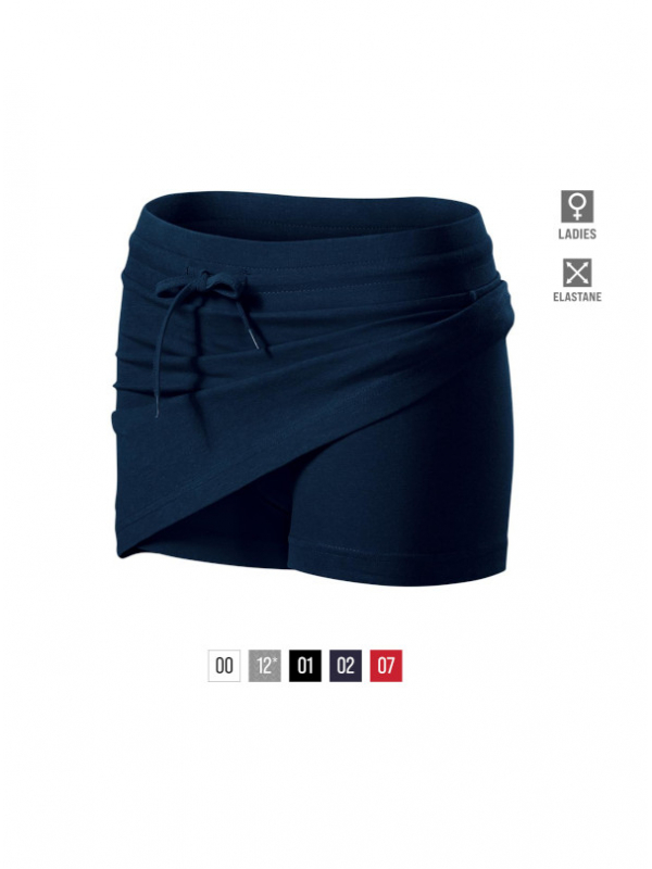 Two in one Skirt Ladies barvna