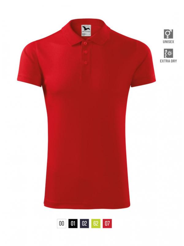 Victory Polo Shirt unisex bela 3XL