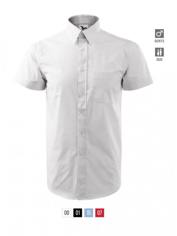 Chic Shirt Gents bela 3XL
