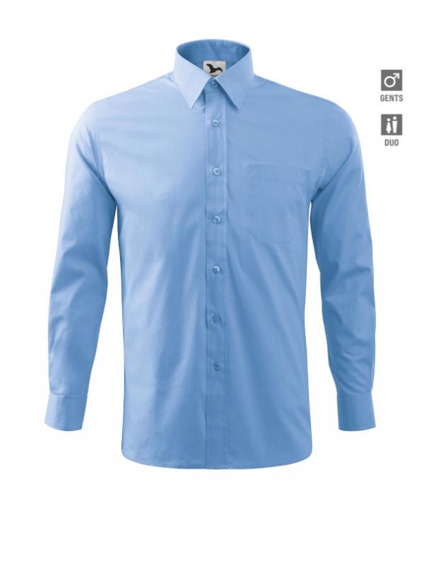 Style LS Shirt Gents bela 3XL
