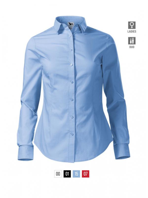 Style LS Shirt Ladies barvna