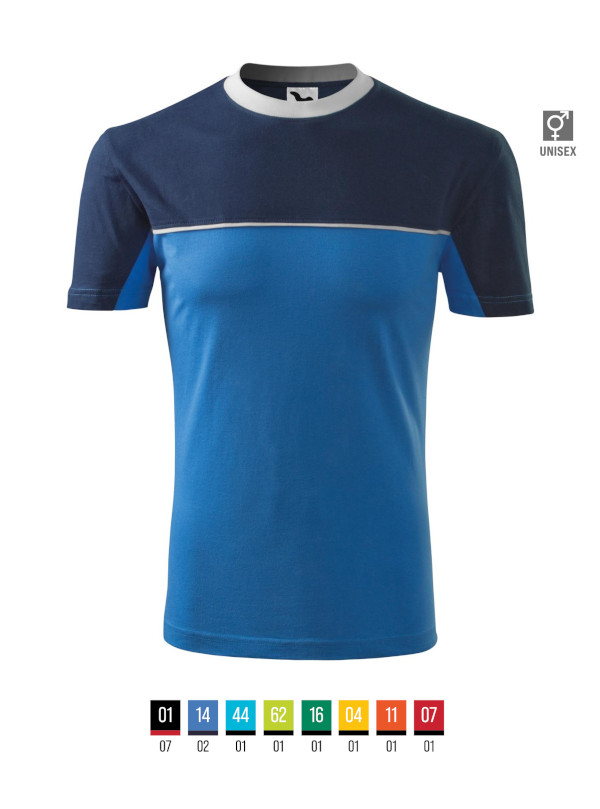 Colormix T-shirt unisex barvna 3XL