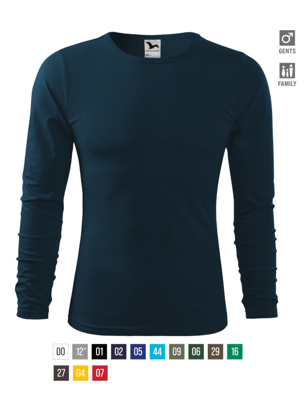 Fit-T LS T-shirt Gents bela