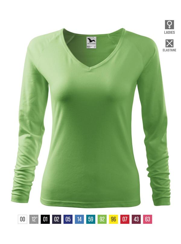 Elegance T-shirt Ladies bela 3XL