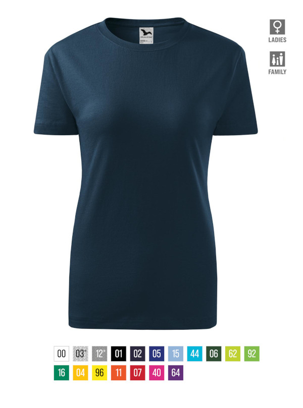 Classic New T-shirt Ladies bela