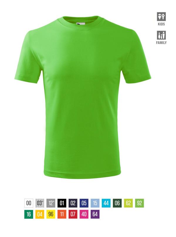 Classic New T-shirt Kids barvna