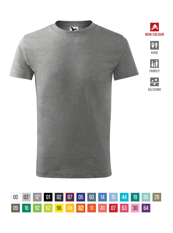 Basic T-shirt Kids barvna
