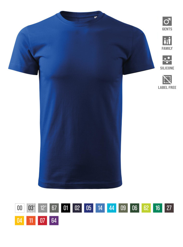 Basic Free T-shirt Gents bela 3XL