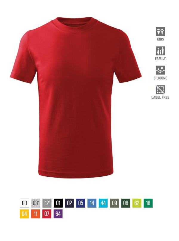 Basic Free T-shirt Kids barvna