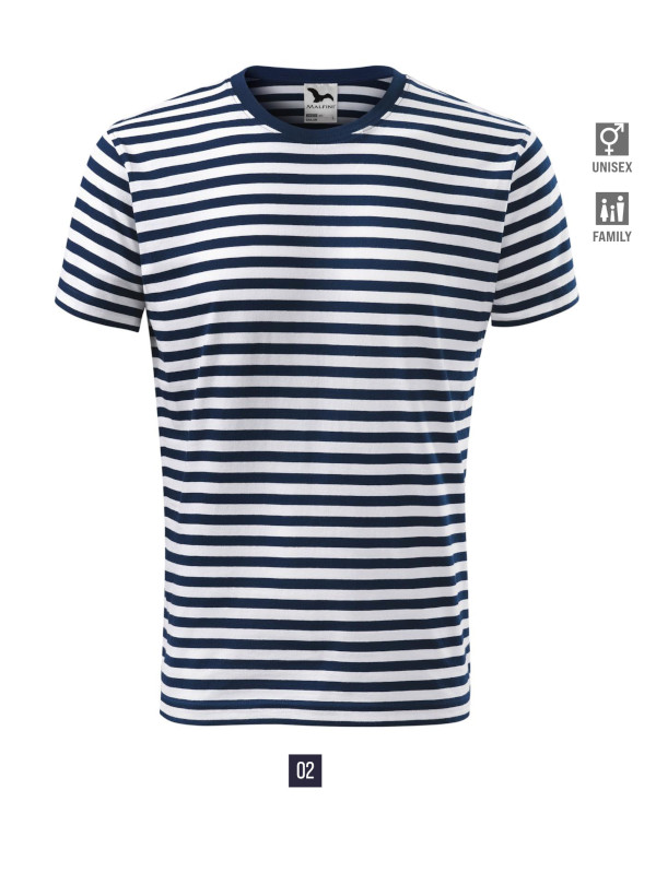 Sailor T-shirt unisex barvna