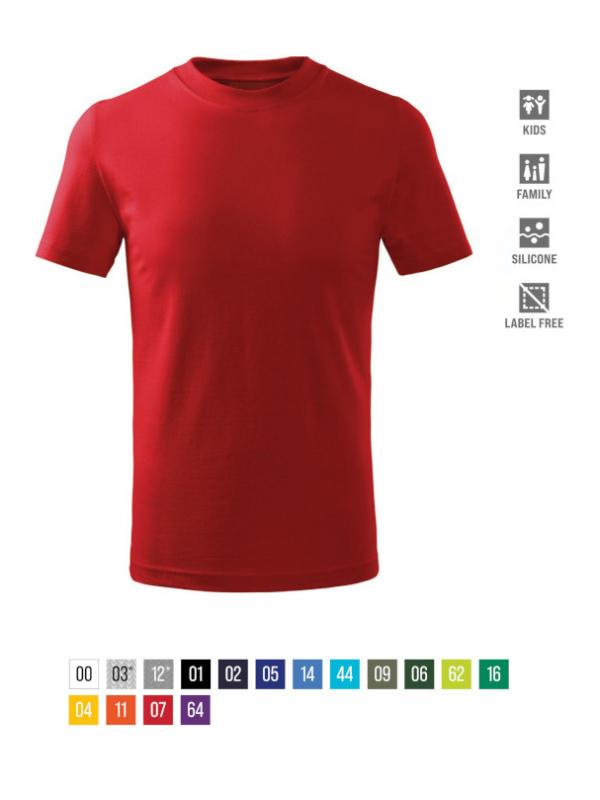 Basic Free T-shirt Kids bela