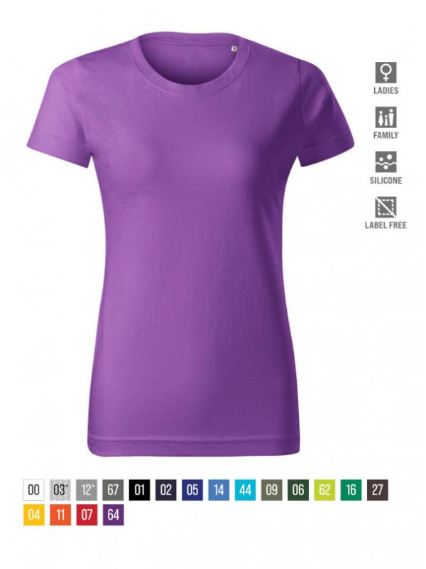 Basic Free T-shirt Ladies barvna
