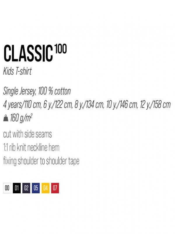 Classic T-shirt Kids - bela