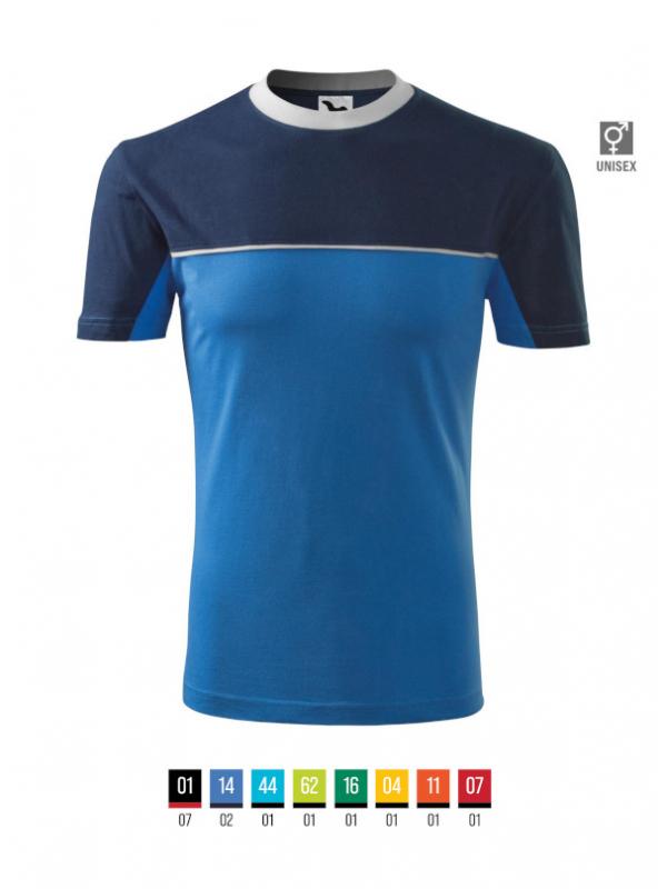 Colormix T-shirt unisex barvna