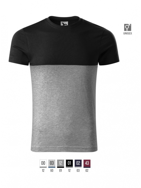 Connection T-shirt unisex barvna