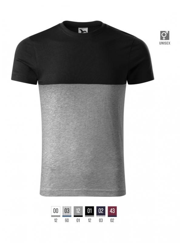 Connection T-shirt unisex bela 3XL