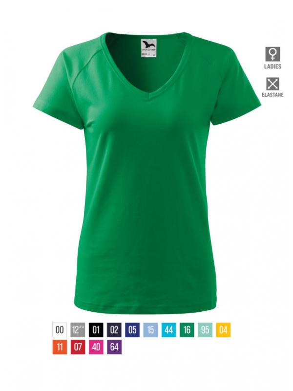 Dream T-shirt Ladies bela 3XL