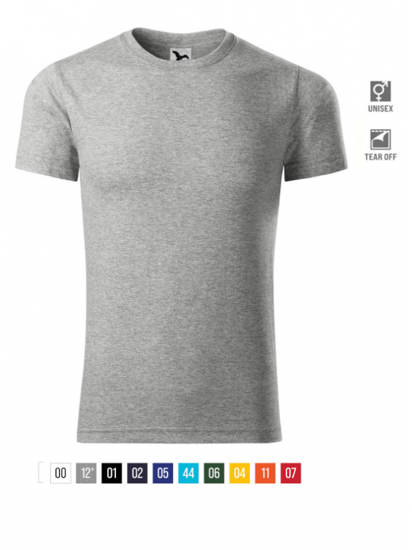 Element T-shirt unisex bela 4XL