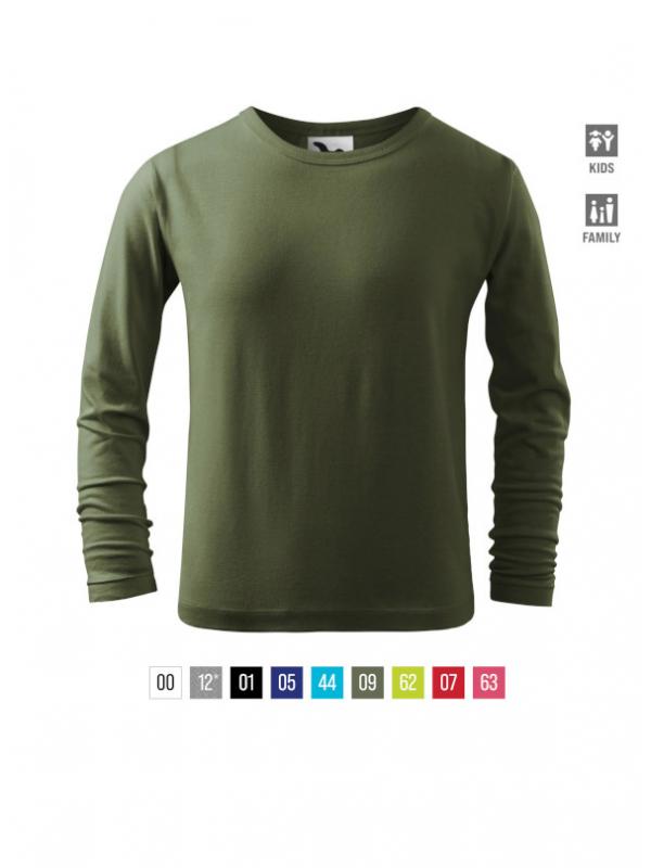 Fit-T LS T-shirt Kids bela