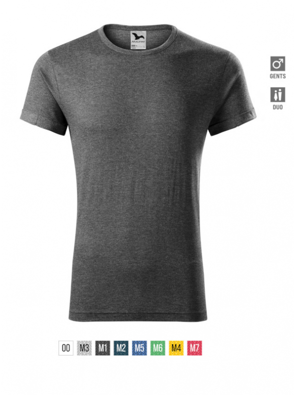 Fusion T-shirt Gents barvna