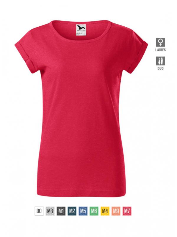 Fusion T-shirt Ladies barvna