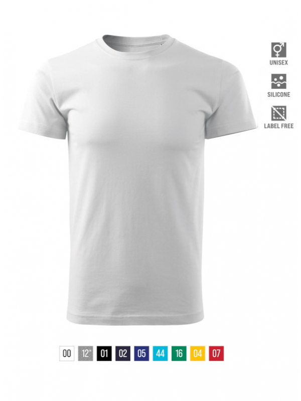 Heavy New Free T-shirt unisex barvna