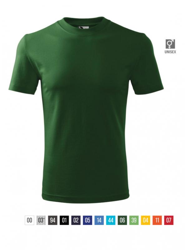 Heavy T-shirt unisex bela 3XL