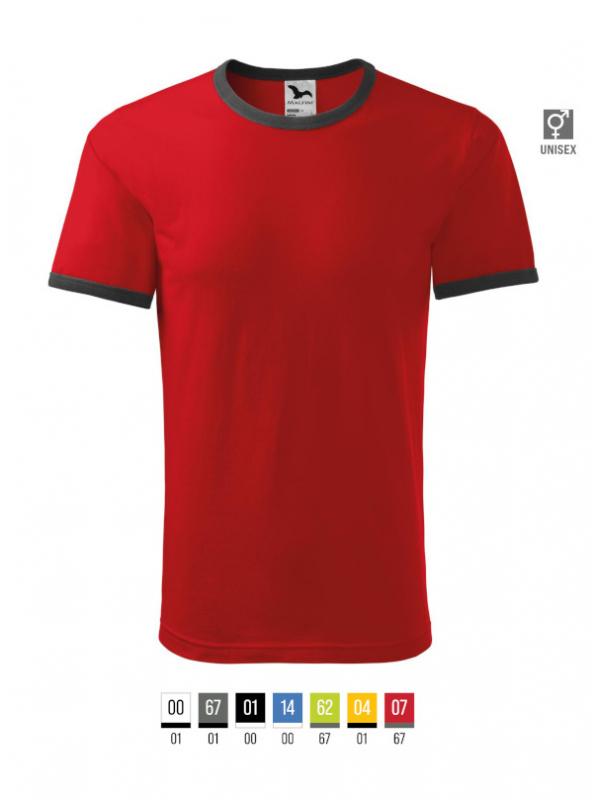 Infinity T-shirt unisex bela 3XL