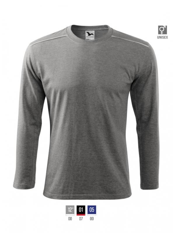 Long Sleeve T-shirt unisex barvna