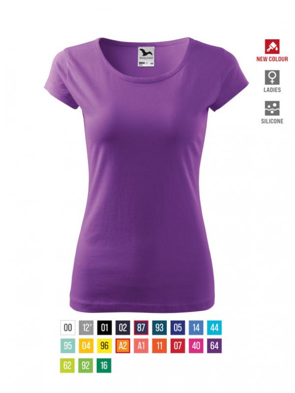 Pure T-shirt Ladies bela 3XL