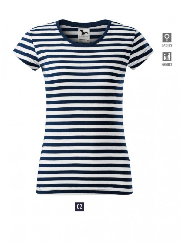 Sailor T-shirt Ladies barvna