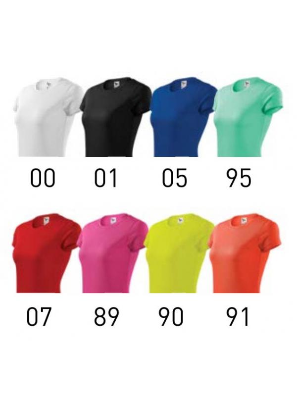 FANTASY - ženska majica - barvna