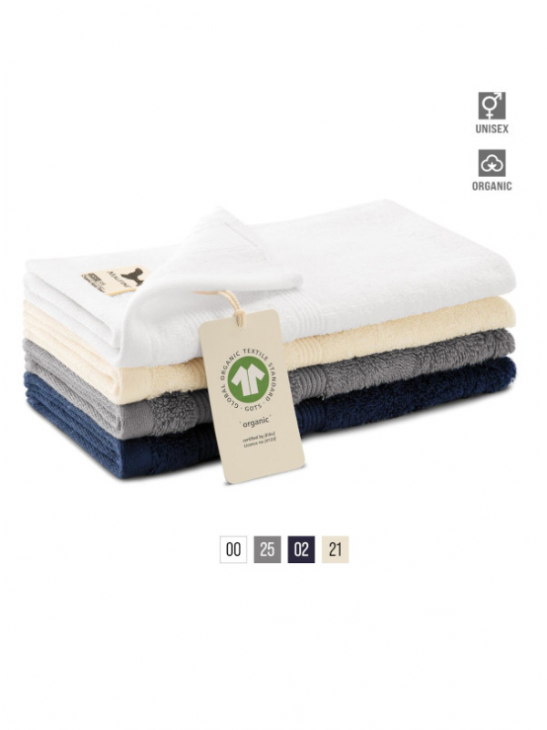 Organic Hand Towel unisex bela