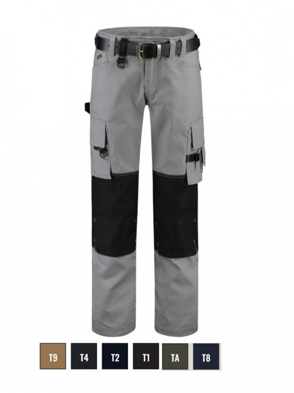 Cordura Canvas Work Pants Work Trousers unisex barvna