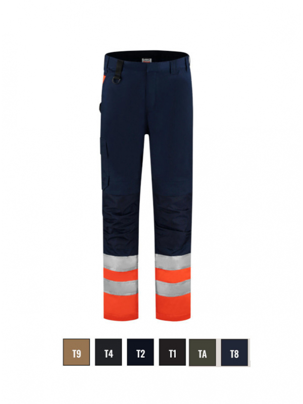 Work Trousers High Vis Work Trousers unisex barvna