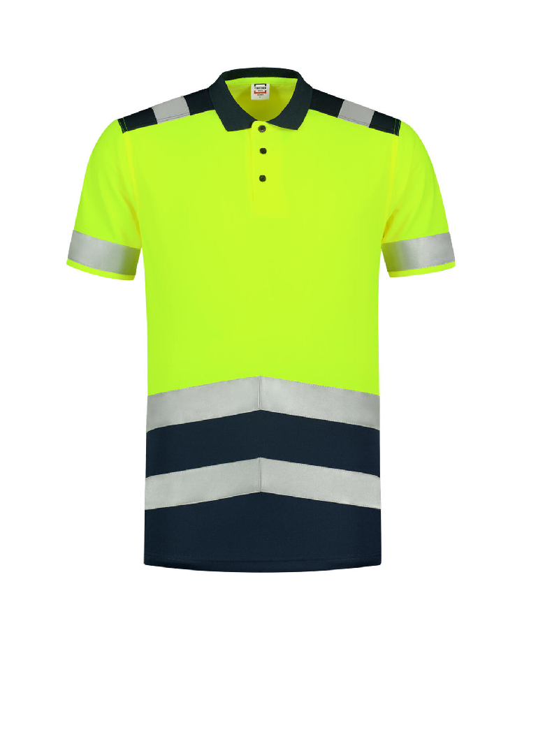Poloshirt High Vis Bicolor Polo Shirt unisex barvna