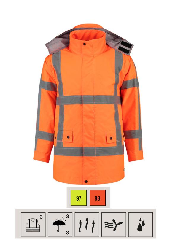 RWS Parka Work Jacket unisex barvna
